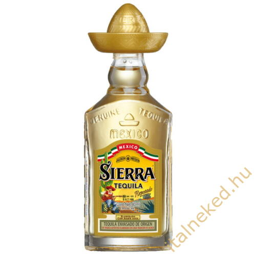 Sierra Reposado tequila (38%) 0,04 l