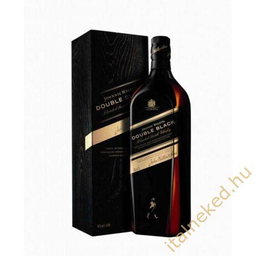 Johnnie Walker Double Black Label Whiskey (papír díszdobozban) (40%) 0,7 l