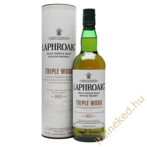 Laphroaig Triple Wood Whisky (48%) 0,7 l