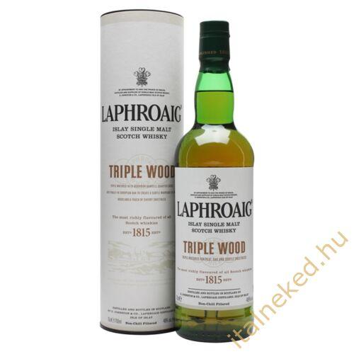 Laphroaig Triple Wood Whisky (48%) 0,7 l