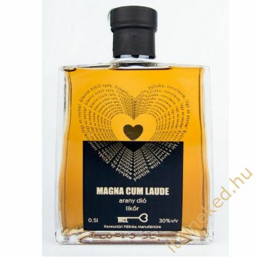 MagnaCum Laude-Arany Dió likőr (30%) 0,5 l