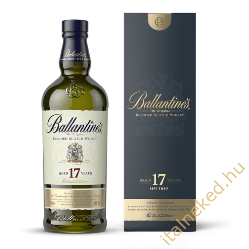 Ballantine's 17 Year Old Whisky (43%) 0,7 l