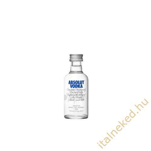 Absolut Blue Vodka (mini) (40%) 0,05 l