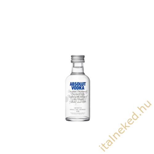 Absolut Blue Vodka (mini) (40%) 0,05 l