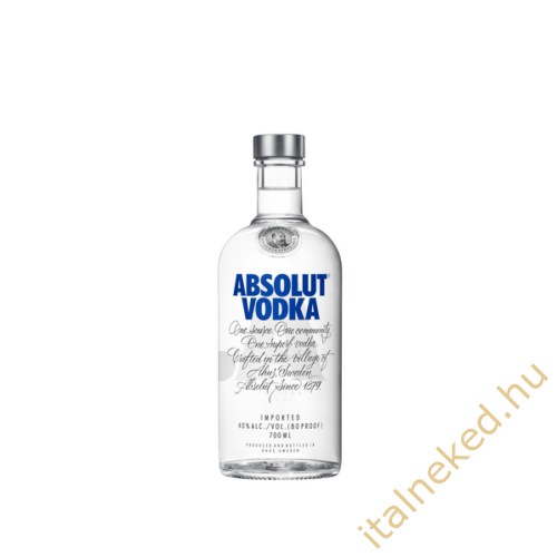 Absolut Blue Vodka (40%) 0,7 l