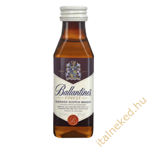 Ballantines whisky mini (40%) 0,05l