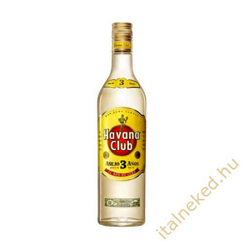 Havana Club Anejo 3 Year Old Rum (40%) 0,7 l