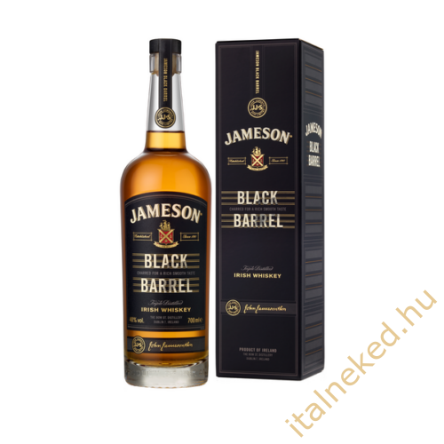 Jameson Black Barrel Whiskey (40%) 0,7 l
