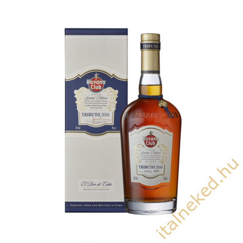 Havana Club Tributo Limited Edition Rum (40%) 0,7 l