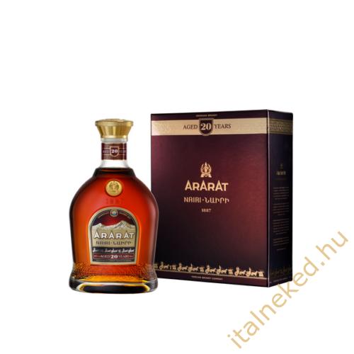 Ararat Nairi Brandy (20 éves) (40%) 0,7 l