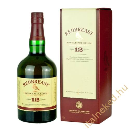 Redbreast 12 year old Whiskey 0,7l (40%)