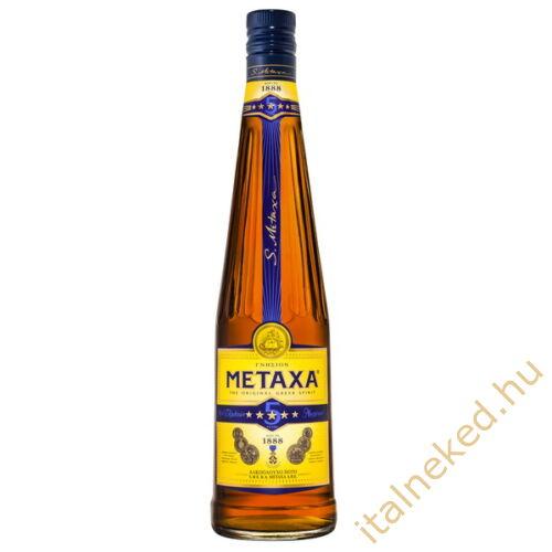 Metaxa  5* konyak( diszdobozos + pohár) (38%) 0,7 l