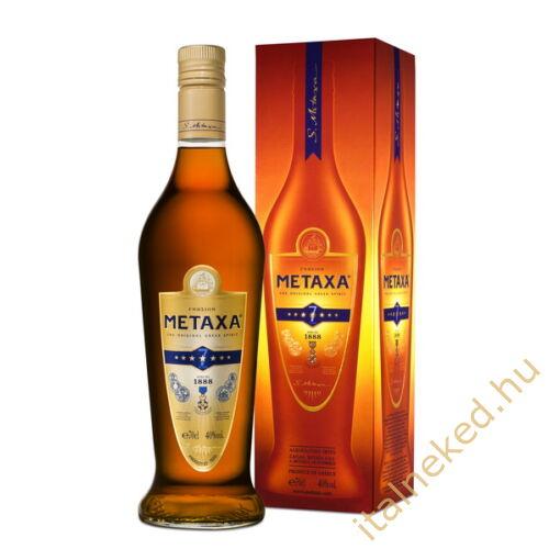 Metaxa 7* Fémdíszdobozos 0,7l 40%