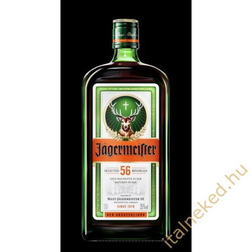 Jägermeister gyomorkeserű (35%) 1 l