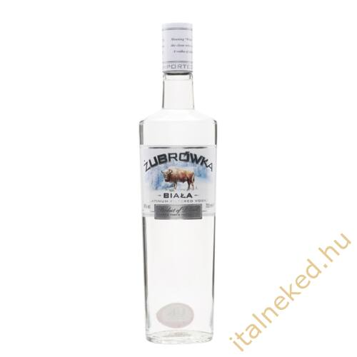 Zubrowka Biala vodka (37,5%) 0,1 l
