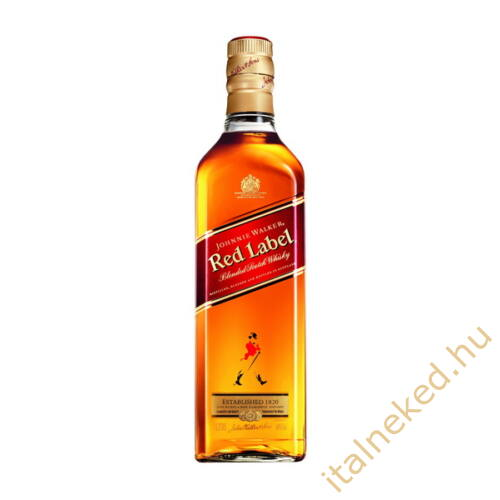Johnnie Walker Red whisky (40%) 0,5 l