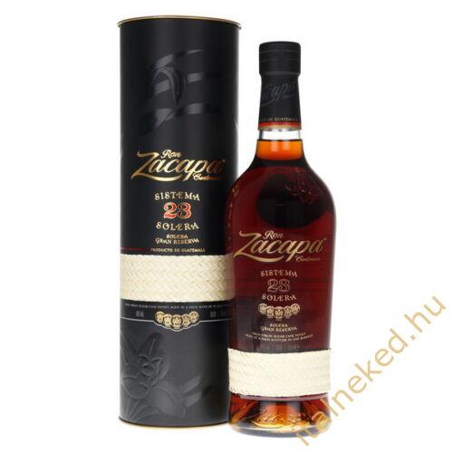 Zacapa Centenario Rum 23 éves (40%) 0,7 l