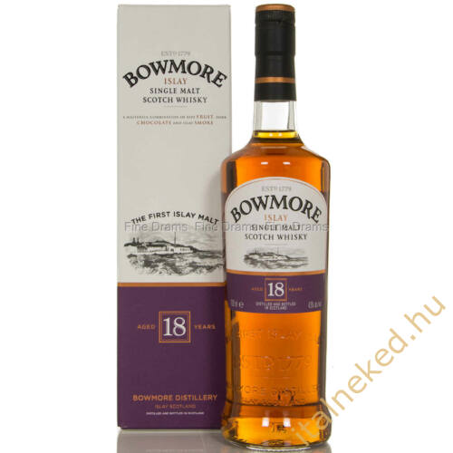 Bowmore 18 Year Old Whisky (40%) 0,7 l