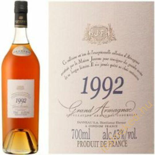 Janneau Armagnac 1992 konyak (43%) 0,7 l