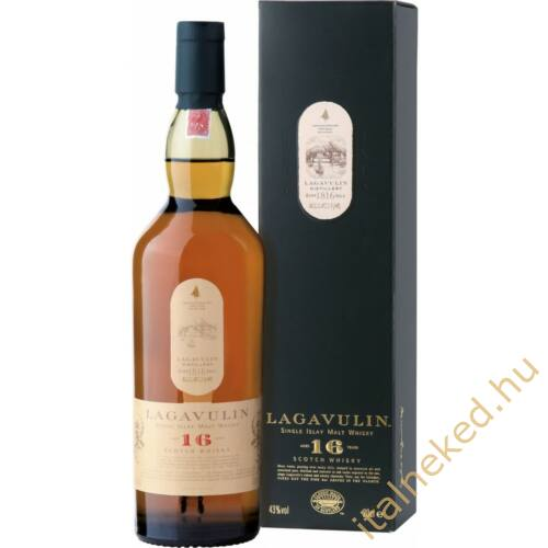 Lagavulin 16 Years Whisky (43%) 0,7 l