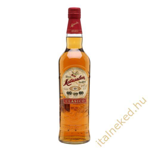 Matusalem Clasico 10 Years Gold Rum (40%) 0,7 l