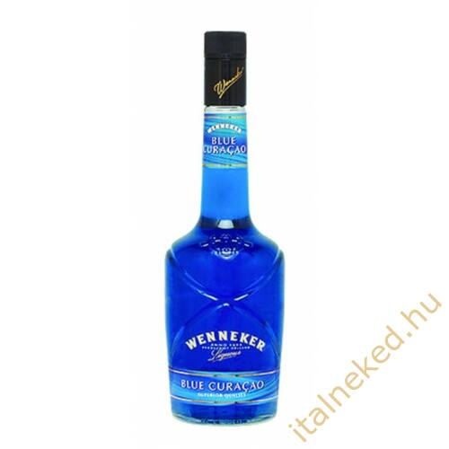 Wenneker Blue Curacao likőr (20%) 0,7 l