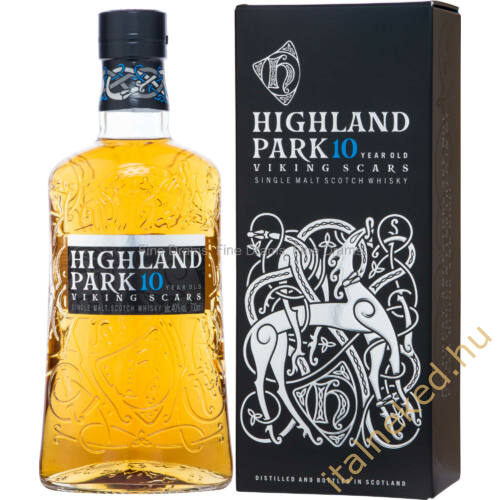 Highland Park 10 Year Old Whisky - Viking Scars 0,7l 40%