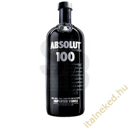 Absolut 100 Vodka 1,0 l (50%)