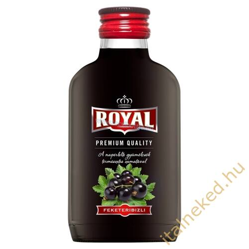 Royal vodka Feketeribizli (30%) 0,1 l