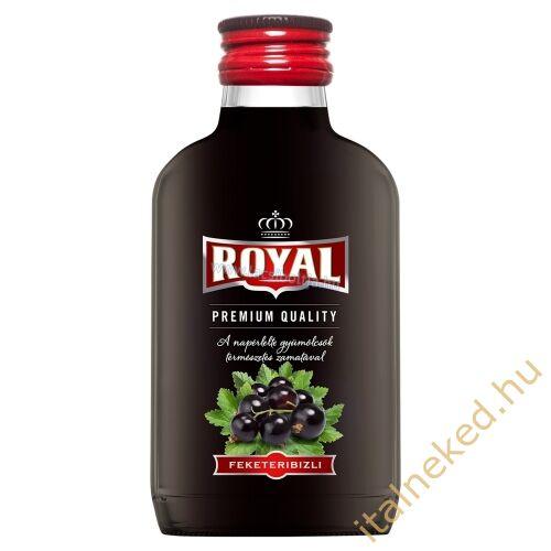 Royal vodka Feketeribizli (30%) 0,1 l