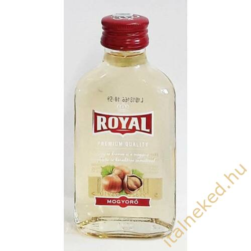 Royal Vodka Mogyoró 0,1 l (30%)