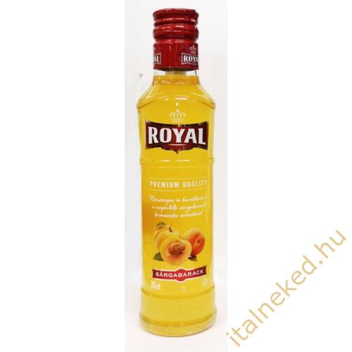Royal Vodka Sárgabarack 0,2l  (30%)