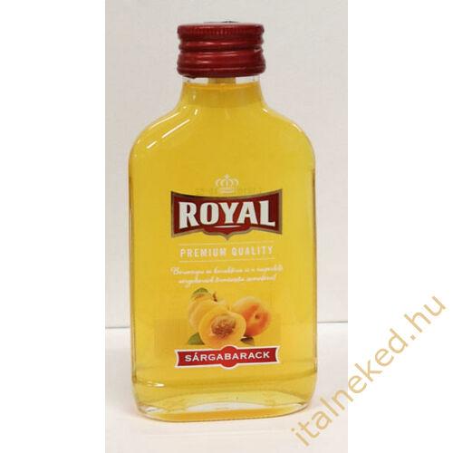 Royal Vodka Sárgabarack 0,1l  (30%)