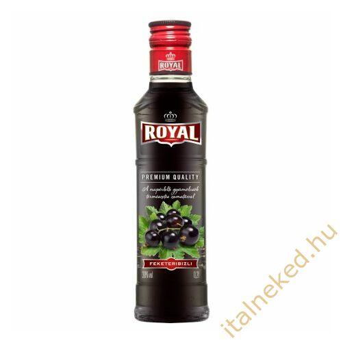 Royal vodka Feketeribizli (30%) 0,2 l