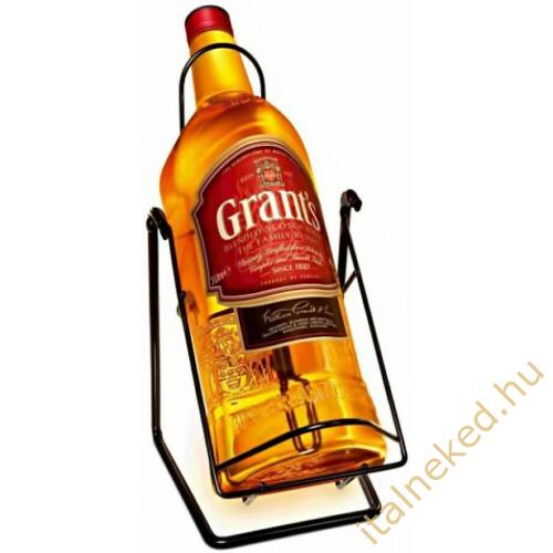 Grants Whisky (állvánnyal) (40%) 3 l