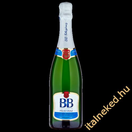 BB félszáraz pezsgő (11,5%) 0,75 l