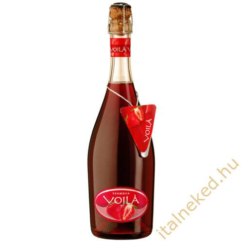 Voila Szamóca pezsgőkoktél 0,75 l