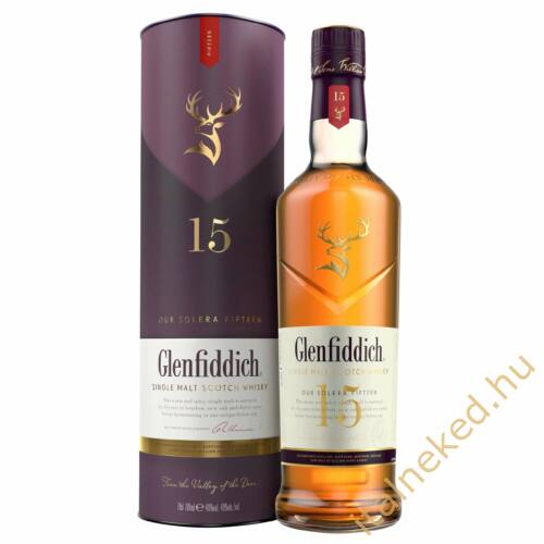 Glenfiddich 15 Our Solera Whisky (40%) 0,7 l