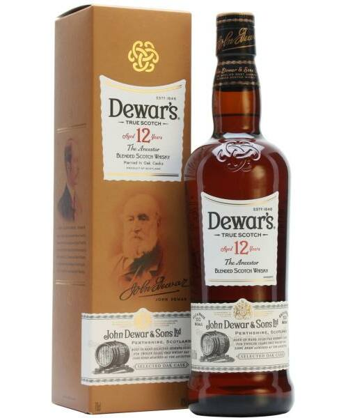 Dewar's 12 Year Old Whisky (40%) 0,7 l