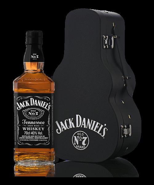 Jack Daniels Gitáros tokban 0,7 l (40%)
