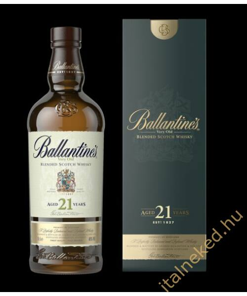 Ballantine's 21 Year Old Whisky (40%) 0,7 l