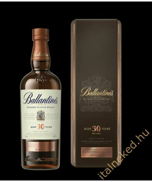 Ballantine's 30 Year Old Whisky (40%) 0,7 l