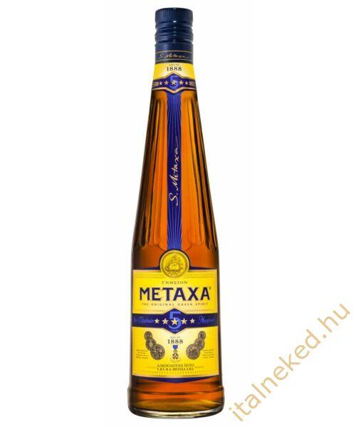 Metaxa 5* konyak (38%) 0,7 l