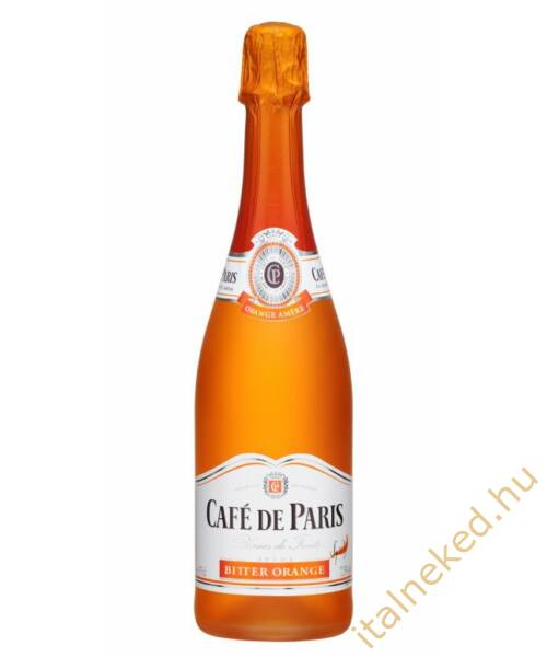 Cafe De Paris Bitter Orange pezsgő (7,5%)  0,75 l
