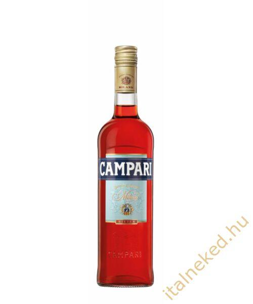 Campari Bitter gyomorkeserű (25%)  0,7 l