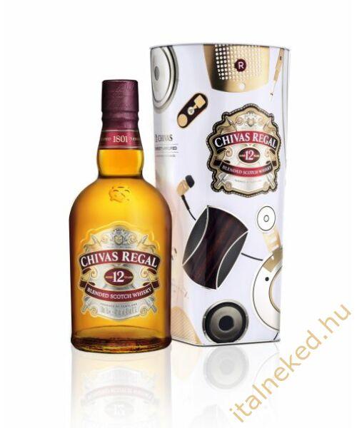 Chivas Regal 12 Year Old Whisky (fém díszdobozban) (40%) 0,7 l