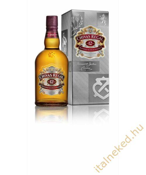 Chivas Regal 12 Year Old Whisky (papír díszdobozban) (40%)  0,7 l