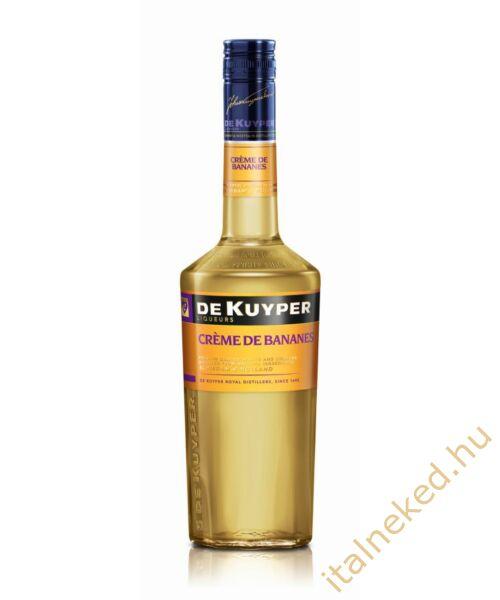 De Kuyper Creme De Bananes likőr (banán) (24%)  0,7 l