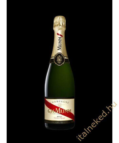 G. H. Mumm Cordon Rouge Brut pezsgő (12%)  0,75 l