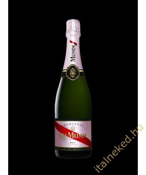 G. H. Mumm Cordon Rouge Rosé pezsgő (12%) 0,75 l